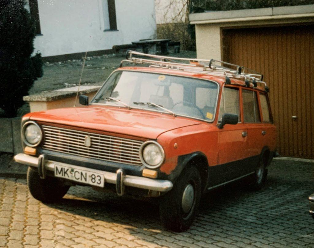 Erster Firmenwagen